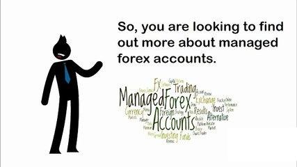 Legit managed forex account